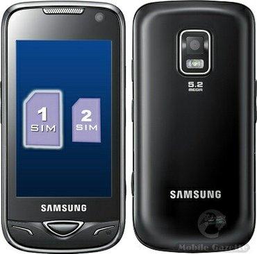 Samsung-6 - Азербайджан: Б/у Samsung B7722 Duos Черный
