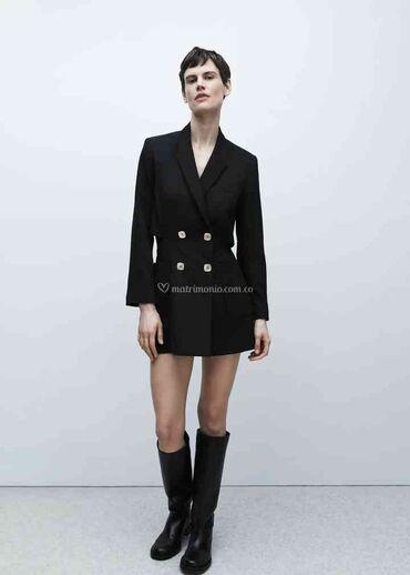 Zara blazer style jumpsuit Пиджак-комбинезон