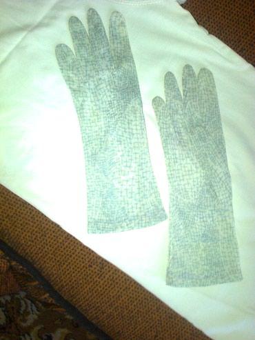 Перчатки тонкие.  Размер 7,5 - на узкую в Бишкек