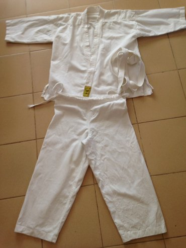 Продаю детское кимоно для дзюдо, один раз стирано, 100% хб размер 44 в Кант