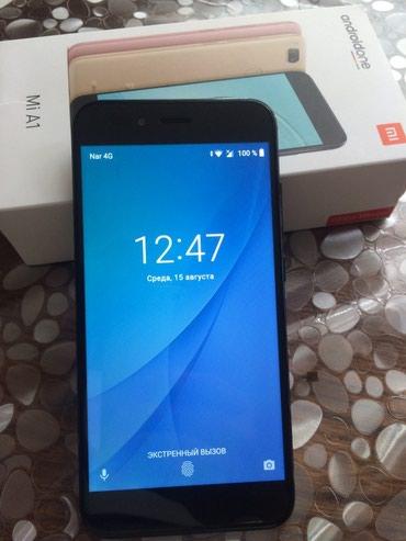 Sumqayıt şəhərində Xiaomi mi a1 32 gb  ram 4   2 heftenin telefonudu cizigi yoxdu ekran