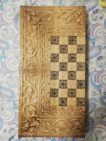 Шахматы в Кыргызстан: Продам шахматы(нарды), состояние отличное
