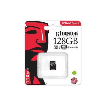 Продаю флэшку Kingston microsd 128 GB. Новая, в наличии 3 шт