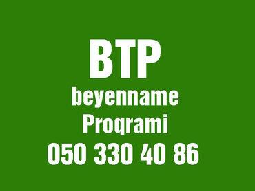 Online BTP proqramının yazılması Btp proqramı açılmır? Bizə zəng edin