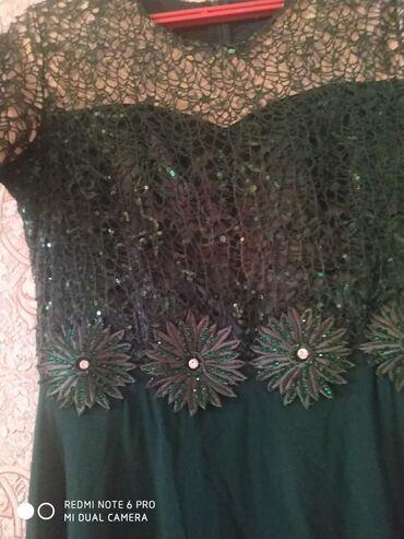 Платья - Цвет: Зеленый - Кок-Ой: Платья почти новый
