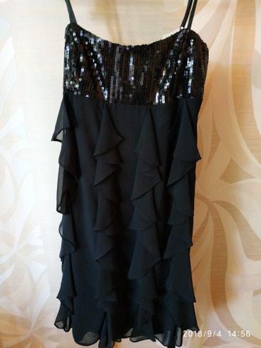 Bakı şəhərində Платье черное новое  размер S. M  ткань шифон