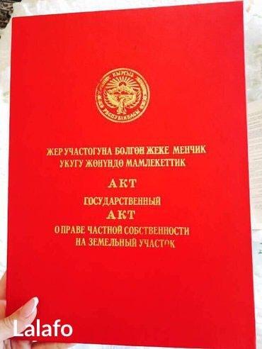 Продаю участок на Иссык-Куле в с.Тамчы в Бишкек