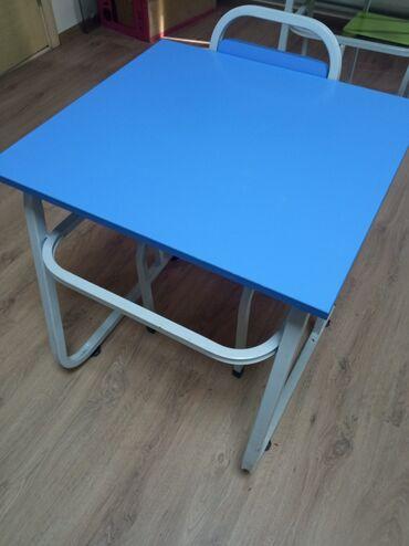 599 объявлений: Продаю парты со стульями (есть регулировка), доску двойную ( мел и мар