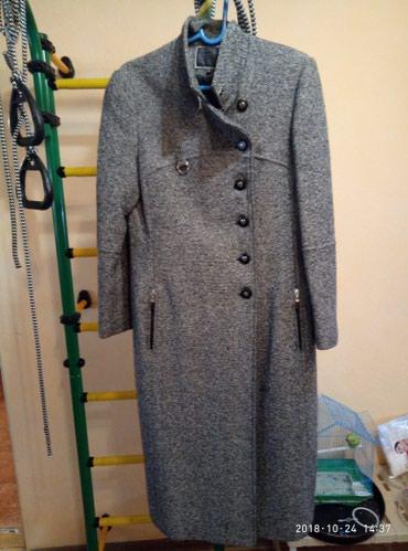 утепленное пальто в Кыргызстан: Продаю деми пальто подклад имеет небольшое утепление,качество супер