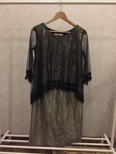 платье миди в Кыргызстан: Платье вечернее 46 размера,в идеальном состоянии,длина миди