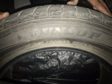шини 17 60 в Кыргызстан: Продаю комплект зимних шин Dunlop 215/60/17