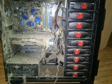 Полная чистка компьютеров и видео карт с заменой термопасты и термопро