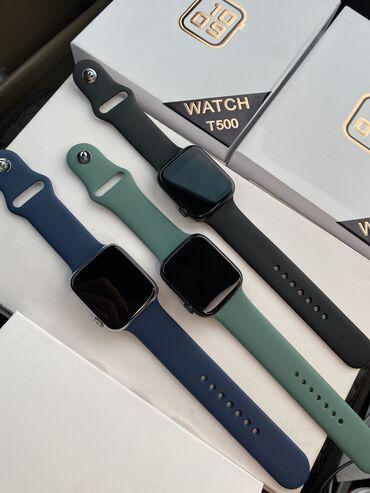 Smart watch T500: • Оповещения о звонках / смс / соц сетях • Измерение