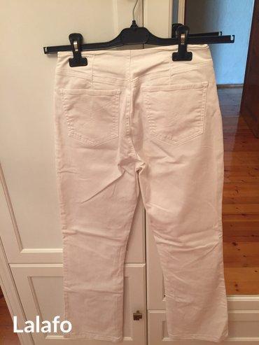 Bakı şəhərində Белые джинсовые брюки, размер 42, в хорошем состоянии, marina babini- şəkil 2