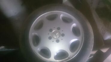 диски титановые в Кыргызстан: Продаю титановые диски R16 4 шт. на MercedesBenz. Можно с шинами в