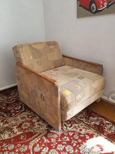 продам кресло кровать in Кыргызстан | ДИВАНЫ: Продаю КРЕСЛО-КРОВАТЬ(раскладное кресло)