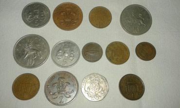 Продаю монет Шотландии 70-90годов  в Токмак