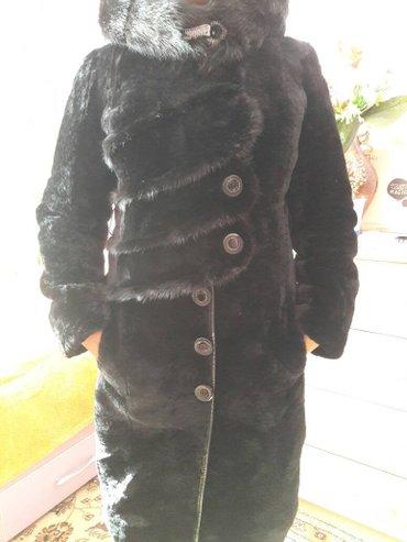 Натуральный мутон с вставками норки 46-48размер. В жизни смотрится оче в Бишкек
