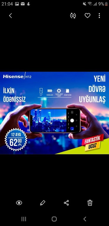 sade-telefon - Azərbaycan: Tek sexsiyyet vesiqəsi ve ev nomresi ile online kreditle magazamizda