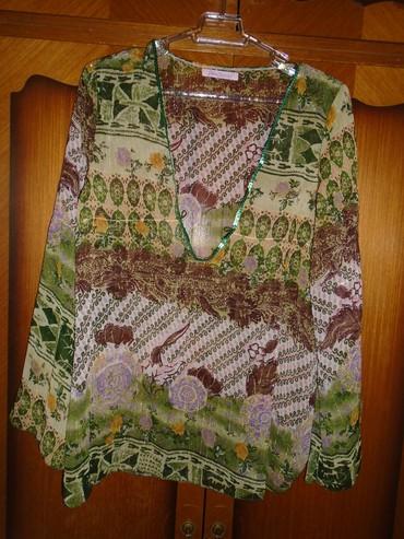 Boho-bluza - Srbija: Lagana tunika/bluza predivnih boja i zanimljivog printa, u boho