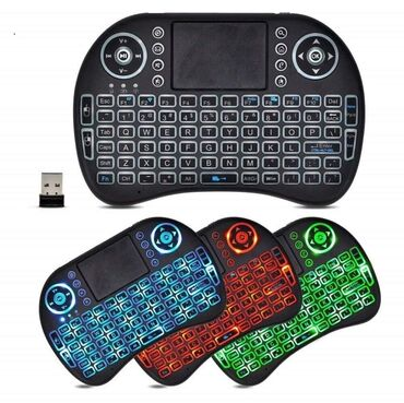Tasne - Srbija: Bežična Tastatura/Touch pad sa pozadinskim osvetljenjem za Smart