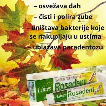 ☘ROSADENT PASTA ZA ZUBE Rosadent pasta je svrstana medju 5 pasti u