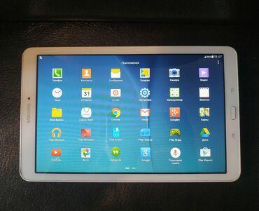 Планшеты - Кыргызстан: Продаю планшет samsung galaxy tab e. Модель SM-T561. Причина: редко