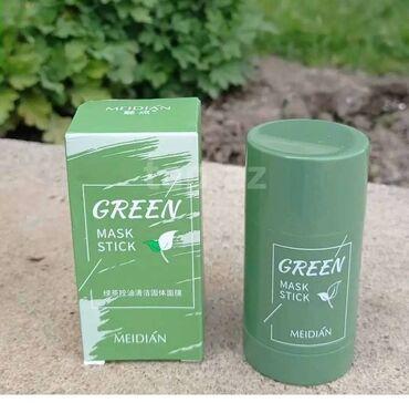 Green mask stick Her növ deriye uyğundurHeç bir əks təsiri yoxdur%