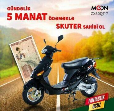 Moped kreditle gundelik 5 manat