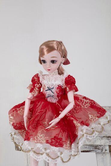 фиолетовое платье на свадьбу в Кыргызстан: Кукла очень красивая шарнирная . В подарок и для детей и для взрослых