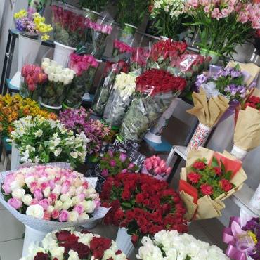 Распродажа в цветочном салоне -50% скидка в Бишкек