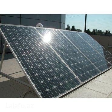 Bakı şəhərində Солнечные батареиПродаем любые солнечные панели от 50w до 320w
