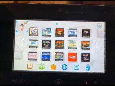 Ηλεκτρονικά - Ελλαδα: Nintendo WII U κονσόλα με πολλά παιχνίδια αγορασμένα μέσα στην κονσόλα
