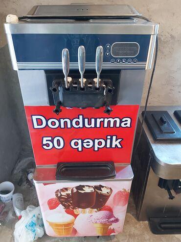Biznes üçün avadanlıq - Azərbaycan: Dondurma aparatı. 3 formada dondurma istehsal edir. İşlək