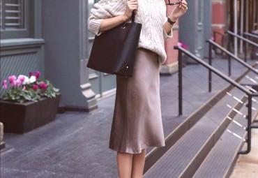 Ženska odeća | Boljevac: Krem poslovna suknja. L VEL. bez ostecenja