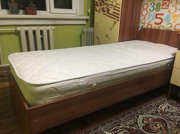 Продаю кровать односпальную с в Бишкек