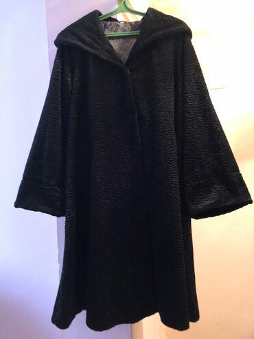 Продаётся женское «плащ пальто » 50-52 размера чёрного цвета . В хо