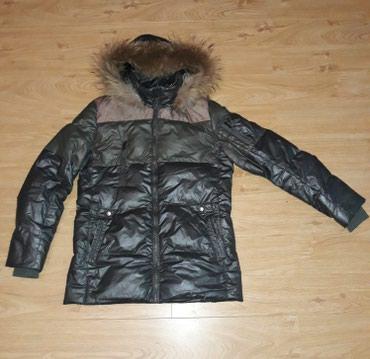 Куртка подростковая, зимняя. Капюшон в Бишкек