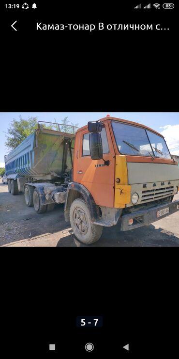 Купить грузовик до 3 5 тонн бу - Кыргызстан: Продаётся КамАЗ Танар 30 тоник в месте с бизнесом сел поехал на ходу