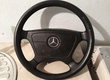 Продаю руль подходит на Мерседесе w210, w202, w124 С хром значком и
