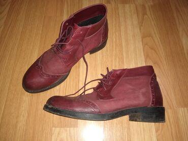Kozne flekica samo - Srbija: Zenske cipele,kozne. nosene samo dva puta,broj 40