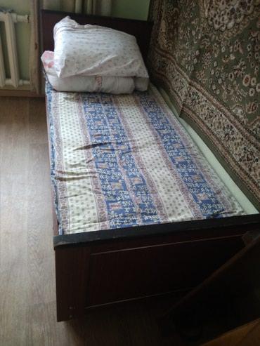 Продаю кровать в отличном состоянии с матрасом в Бишкек