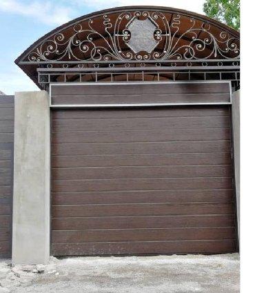 stroitelnaja brigada s prorabom в Кыргызстан: Секционные ворота отличное решение, стильный дизайн для вашего дома !