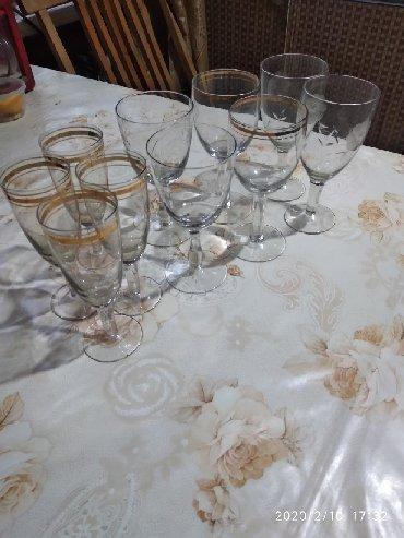 Стаканы - Ак-Джол: Бокалы стеклянные