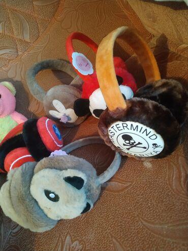 меховые пинетки в Кыргызстан: Детские теплые меховые наушники . Удобные мягкие новые