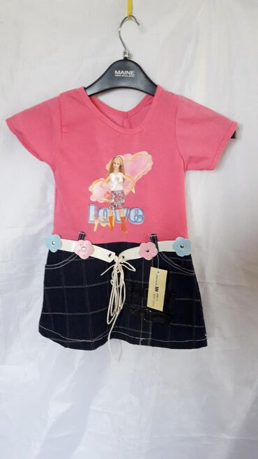 детский платья новый в Азербайджан: Платье детское на 1.5 - 2 годика.Новое! Классное!!Доставка до метро