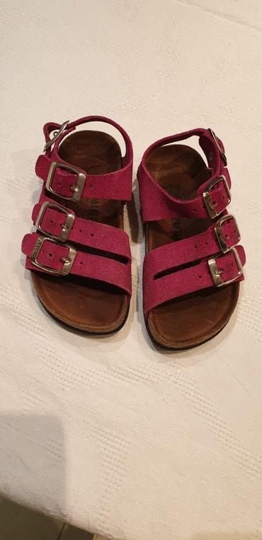 Kozne Grubin sandalice,velicina 27(zbog većeg kalupa odgovara - Belgrade