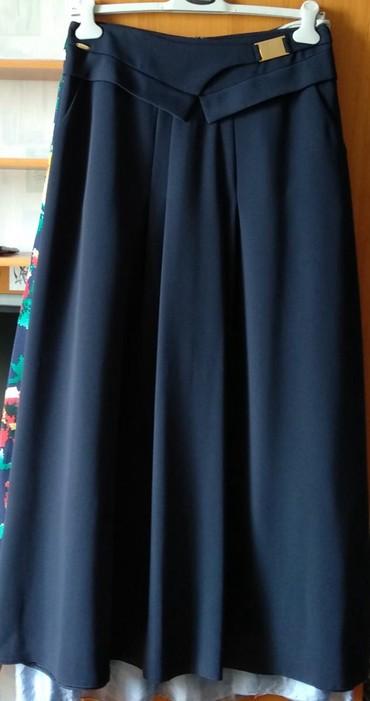 синяя юбка в Кыргызстан: Темно- синяя юбка,длинная в пол, с карманами. Турция. Новая. Размер