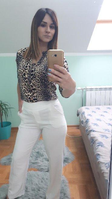 Bele siroke pantalone - Srbija: Bele pantalone,nove,S veličina,odlične!