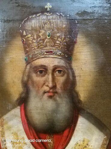 Na prodaju Sveti Nikola,ulje na platnu,velika dimenzija